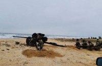 В ВМС начались ротные учения морской пехоты и резерва первой очереди