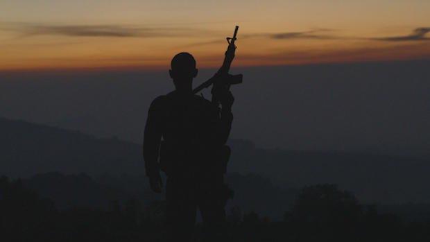Кадр из фильма Земля картелей