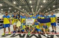 Украина заняла первое общекомандное место на чемпионате мира по смешанным боевым искусствам