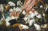 Картину с 42 котами продали за $826 тысяч