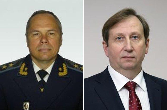Юрий Дьомин и Михаил Гаврилюк (справа)