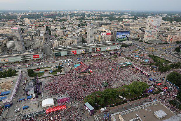 Фан-зона у Варшаві