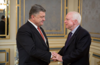 Порошенко рассказал Маккейну про реформы и борьбу с коррупцией
