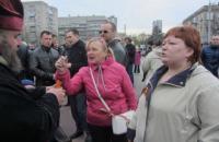 Жительница Днепра, напавшая с молотком на бойца АТО в оперном театре, задержана