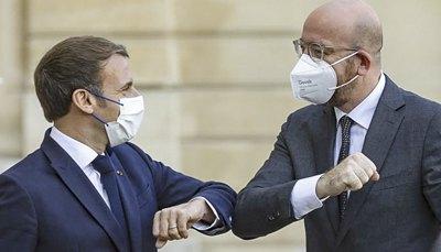 $500 млн на COVID, перегони за вакциною і питання Криму – підсумки Паризького форуму Макрона