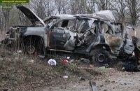 При подрыве автомобиля ОБСЕ на Донбассе погиб гражданин Великобритании, - Геращенко