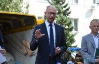 Яценюк рад снижению экспорта продуктов в Россию
