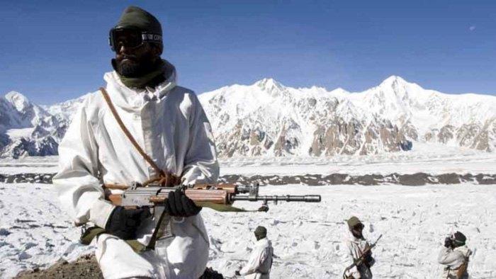 Индийские солдаты на Сиачене