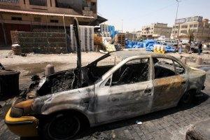 В результате взрыва в Багдаде погибли 12 человек