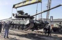 Харківський бронетанковий завод передав ЗСУ 13 відремонтованих танків