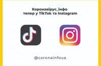 Минздрав будет информировать о COVID-19 в TikTok и Instagram