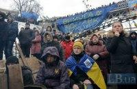 Протестующие на Майдане ожидают, что власть скорее уйдет в отставку, чем применит силу, - опрос