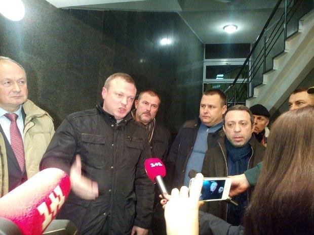 Олейник, Филатов и Корбан в Главном следственном управлении ГПУ