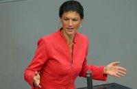 Лидер еще одной немецкой партии поддержала сближение с РФ