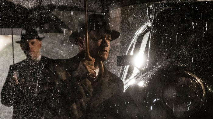Кадр из фильма Стивена Спилберга 'Шпионский мост'