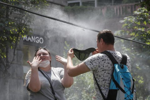 В среду в Киеве жара усилится до +34