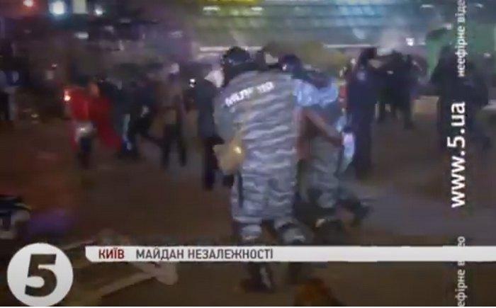 """Фрагмент відео """"5 каналу"""" із затриманням Володимира Дудка"""