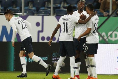 Футболісти збірної Франції зіткнулися з расизмом під час гри з росіянами (оновлено)
