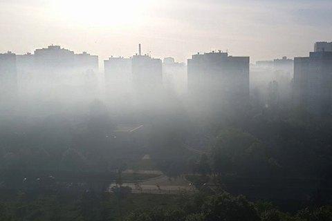 Смог у Києві. Чим ми дихаємо?
