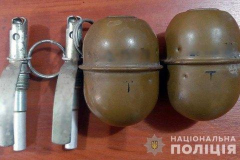 В Донецкой области задержали мужчину, который продавал гранаты по 500 гривен