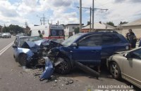 У Харкові в ДТП постраждали п'ятеро людей, у тому числі двоє дітей