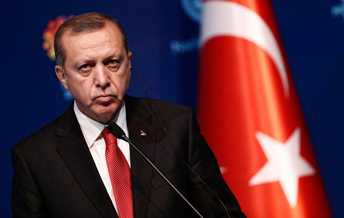 Реджеп Тайип Эрдоган во время Всемирного гуманитарного саммита в Стамбуле, 9 ноября 2016.