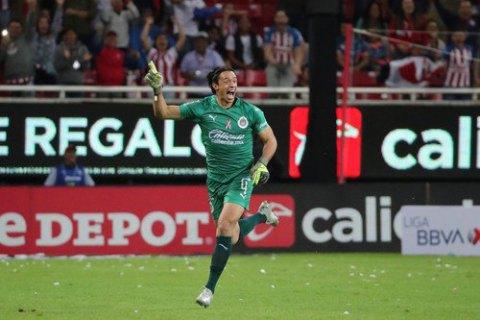 У чемпіонаті Мексики воротар забив гол ударом зі свого штрафного майданчика
