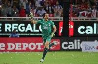 В чемпионате Мексики вратарь забил гол ударом со своей штрафной площади