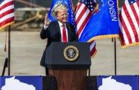 Рейтинги Трампа и Байдена почти сравнялись накануне первых дебатов