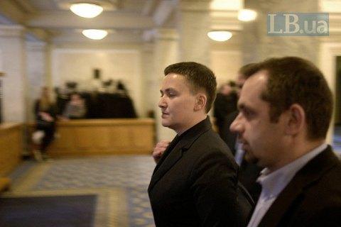 Савченко підтвердила, що була в Раді зі зброєю