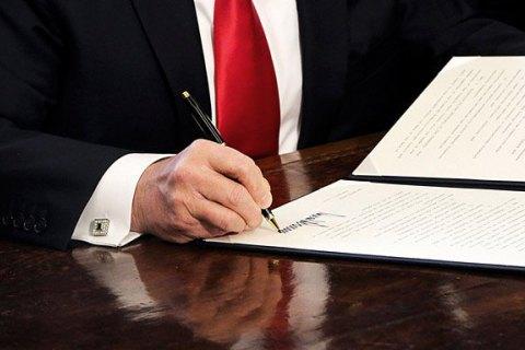 Трамп підписав бюджет США із $620 мільйонами для України