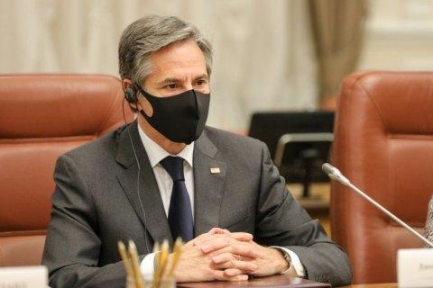 Держсекретар США Блінкен назвав п'ять ключових кроків для прогресу реформ в Україні
