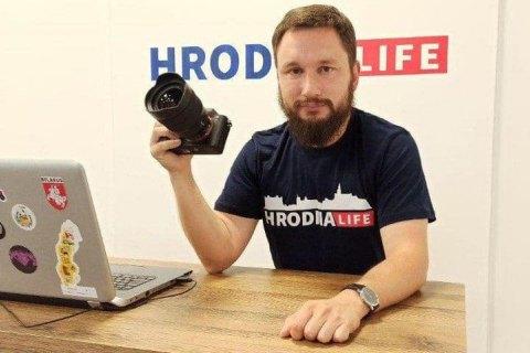 """У Білорусі затримали головного редактора видання """"Hrodna.Life"""""""