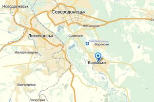 Местные жители выгнали боевиков из поселка под Северодонецком