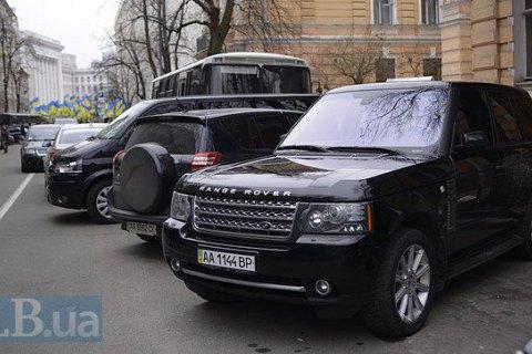 Депутати проїздили 1,4 млн гривень на машинах за держрахунок