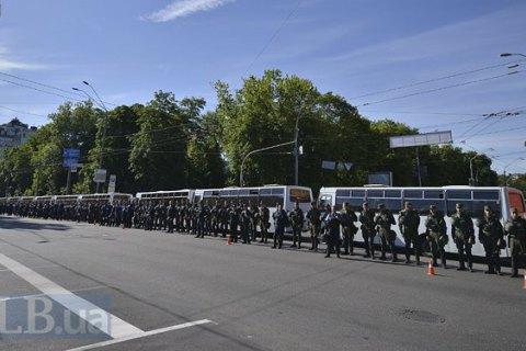 Кількість поліції під час Маршу рівності в чотири рази перевищила число учасників