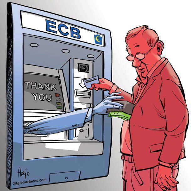 Как Европейский центробанк дает кредиты