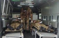 Троє бійців ЗСУ отримали поранення внаслідок обстрілу окупантів