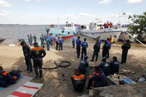 """Спасатели завершили работы на затонувшей """"Булгарии"""""""