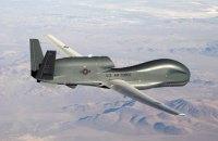 Стратегический беспилотник ВВС США провел разведку над Донбассом и возле Крыма