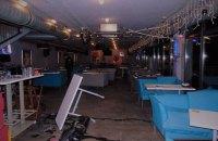 В Киеве посетители устроили драку в ресторане и протаранили его на авто