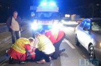 ДТП в Киеве: мужчина пытался перебежать шестиполосную трассу