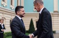 Зеленский и Бабиш заявили о рестарте отношений Украины и Чехии