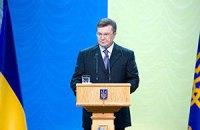 Янукович пожелал главе УГКЦ духовных и телесных сил