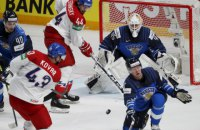 Протягом чвертьфіналу чемпіонату світу з хокею Фінляндія - Чехія шайба 9 секунд лежала на льоду нічийною