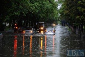Завтра в Украине объявлено штормовое предупреждение