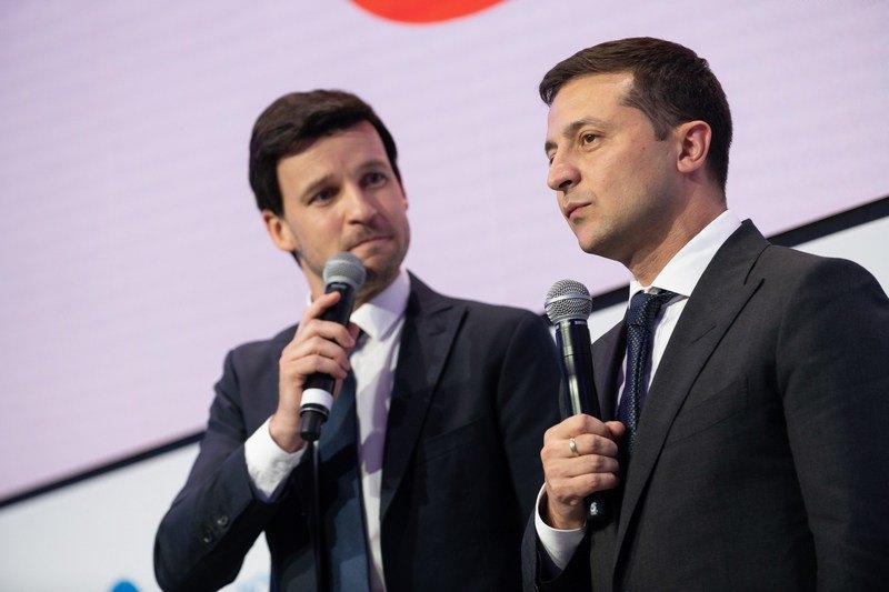 Юрий Великий и Владимир Зеленский