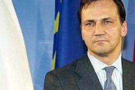 К Порошенко едет министр иностранных дел Польши