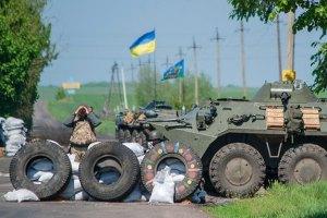 Міноборони підтвердило поранення двох військовослужбовців під Слов'янськом