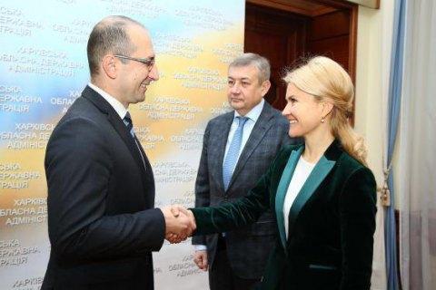 Юлія Світлична і посол Македонії домовилися про експорт послуг харківських підприємств